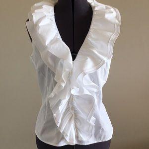 Ralph Lauren 100% cotton poet blouse